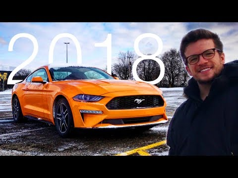 2018 Mustang Ecoboost Review - Interior, Exterior, New Tech and Drive