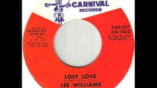 Lee Williams and The Cymbals Lost Love