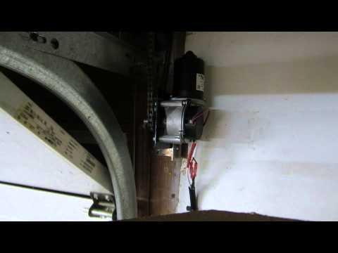 Genie Side Mount Garage Door Opener Silentmax 1000 Youtube