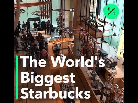 World's Biggest Starbucks Opens in Japan