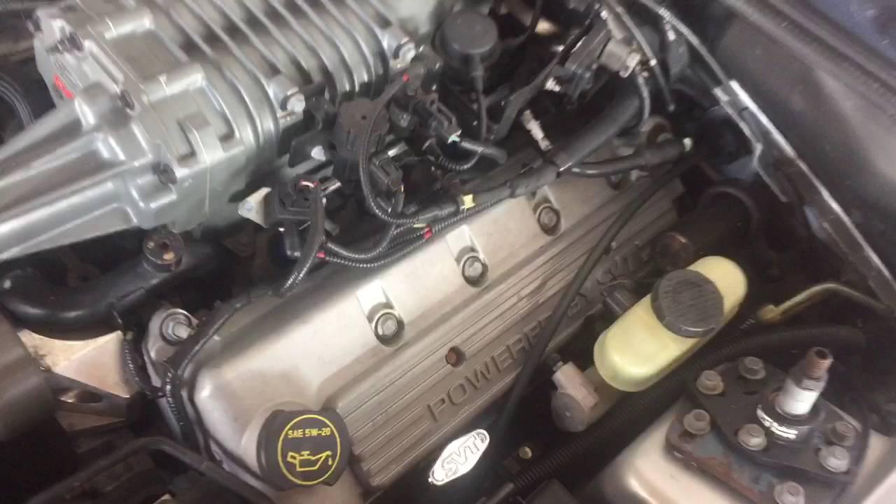 2003 mustang cobra engine start up terminator swap - YouTube