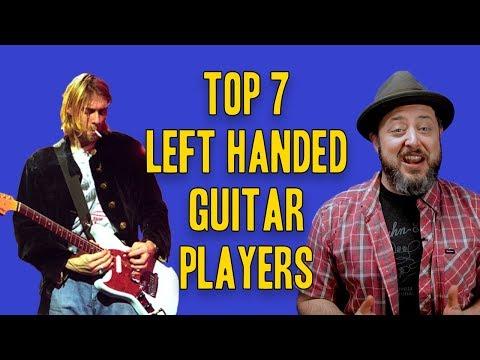 Top 7 Left Handed Guitar Players   Marty Schwartz