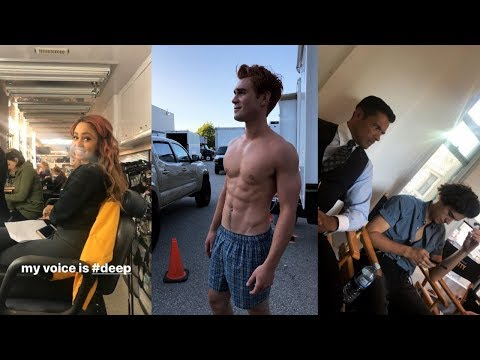 RIVERDALE || Cast Season 3 Behind The Scenes