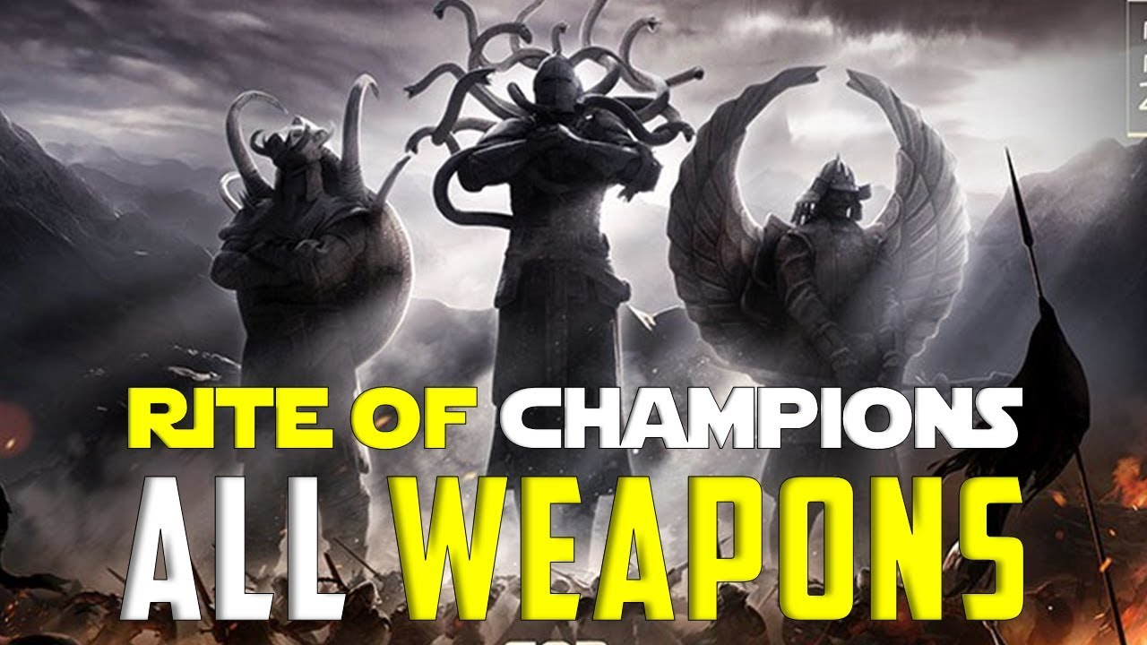 All new rite of champions special event weapon sets for honor season 6 youtube - When is for honor season 6 ...