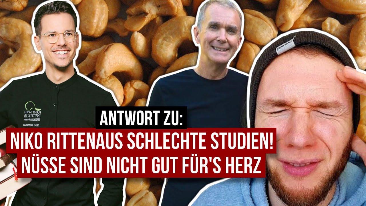 RE: Niko Rittenaus schlechte Studien • Sind Nüsse doch NICHT gesund?