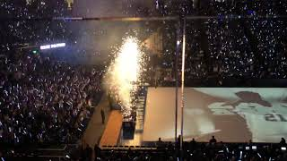 Player introductions at Big Blue Madness 2018