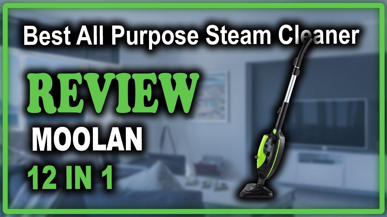 Download Moolan Steam Mop 12 in 1 Steam Cleaner Review - Best All Purpose Steam Cleaner