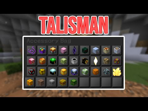 Collecting Easiest TALISMAN!!! Skyblock Starter Guide #7