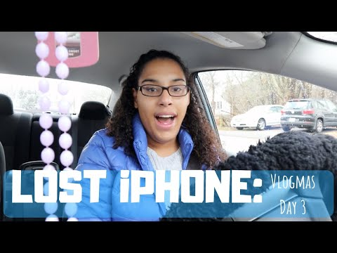 Vlogmas Day 3: Running Errands and Losing My IPHONE XR?!?!