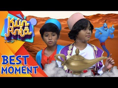 Widih Keren Banget Haikal Dan Dodot Masuk Dalam Cerita Aladin & Lampu Ajaib