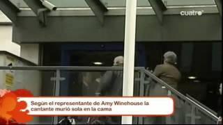 Última hora sobre la muerte de Amy Winehouse