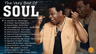 70's Soul - Al Green, Marvin Gaye, Smokey Robinson, Stevie Wonder, Tower Of Power and more
