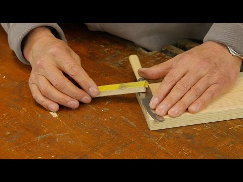 How to Sharpen a Knife | Paul Sellers
