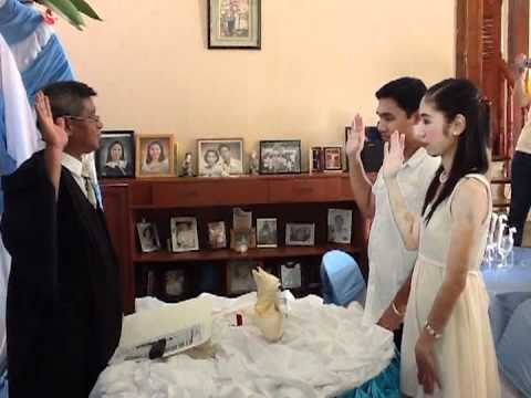 erick & tina\'s civil wedding ^_^ - YouTube