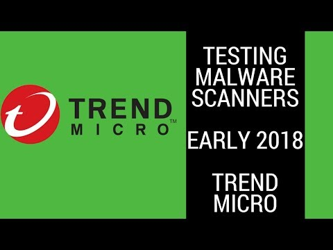 Trend Micro HouseCall VS Folder Of Trojans And Ransomware Early 2018