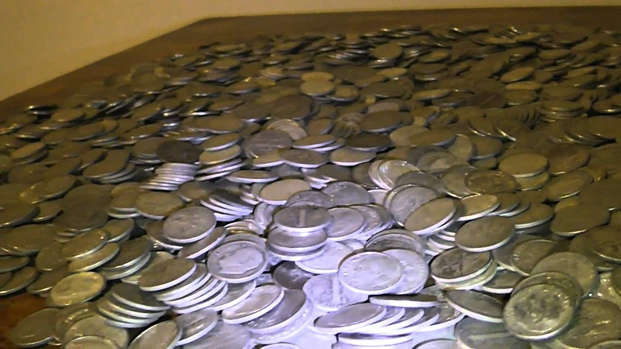 MY MASSIVE 90% SILVER DIMES COLLECTION - U.S. COINS ...