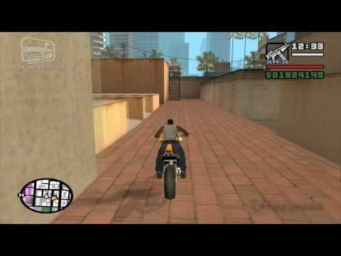GTA San Andreas - Walkthrough - Unique Stunt Jump #21 - Market (Los Santos)