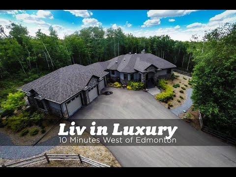 Luxury Acreage West of Edmonton for Sale