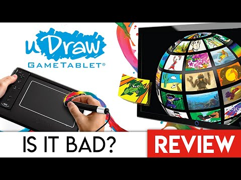 How The Wii UDraw Tablet Failed | Review