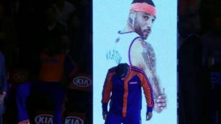 2014 : Knicks Intros (Opening Night)