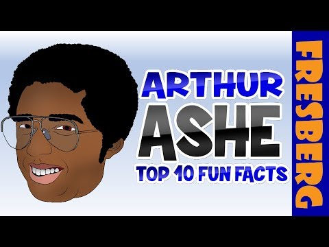 Arthur Ashe was a winner at Wimbledon & the US Open! Watch our Top 10 Fun Facts to Learn!