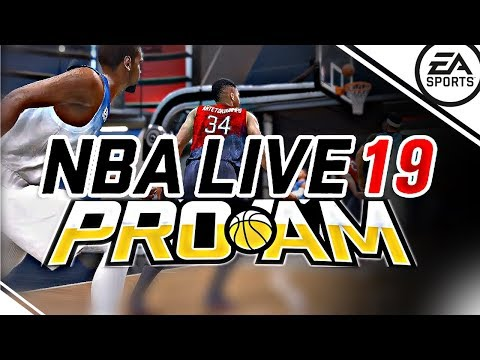 NBA Live 19 - VERY FIRST REAL GAMEPLAY MODE DONE BETTER THAN NBA 2K19