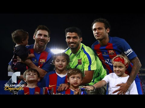 El mensaje de Neymar a Messi y compañía sobre su regreso al Barcelona | Telemundo Deportes