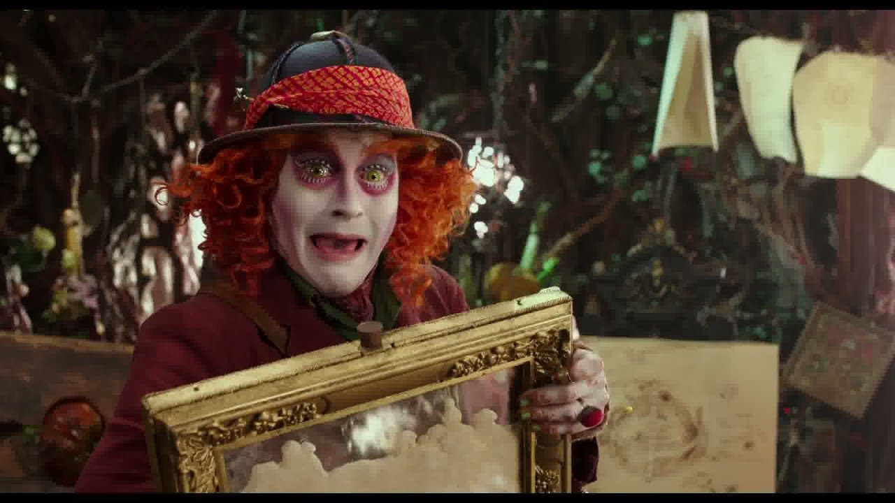Alice de l'Autre Côté du Miroir - Première bande-annonce (VOST) I Disney