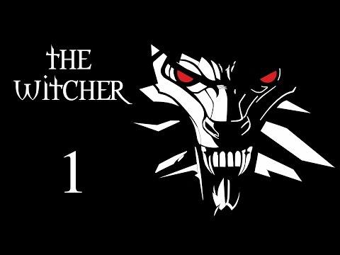 The Witcher Прохождение на русском Часть 1 Нападение на Каэр Морхен