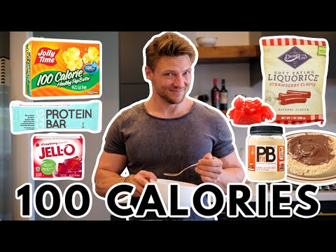6 HEALTHY SNACKS | Under 100 Calories