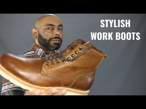 Most Stylish Men's Work Boots/Sutro Charlton Work Boot Review