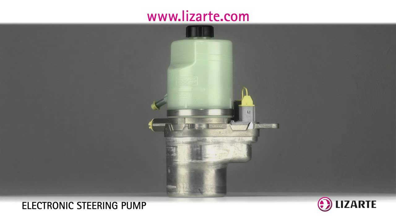 Electronic power steering pump  YouTube