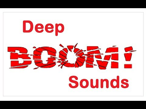 Deep Boom Sound Effects All Sounds