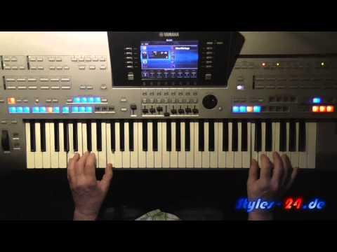 A Summer Place - Percy Faith, Instrumental Hit, gespielt mit Style auf Tyros 4