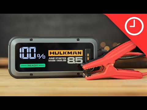 Hulkman Alpha 85S Review: Powerful smart jump starter EDC for your car