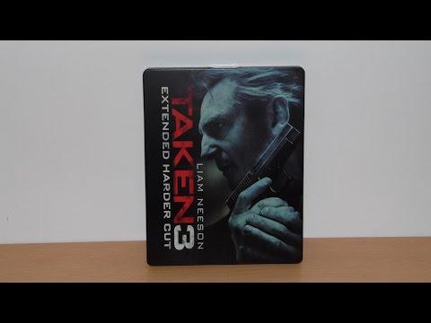 TAKEN 3 - Special Steelbook Edition - Blu-Ray
