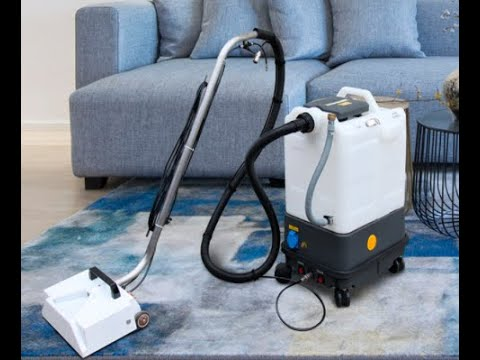 Multifunctional carpet extractor