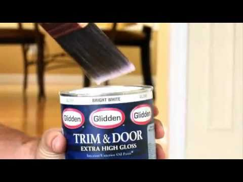 Glidden® Trim U0026 Door Paint: Coverage U0026 Durability