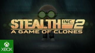Stealth Inc 2 Out Now On Xbox One