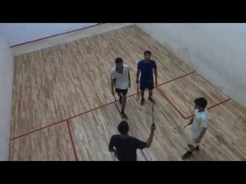 Squash Doubles  Finals Army Institute Of Technology, Pune