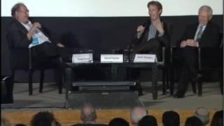 Professor Stanley Fischer and David Fischer at Facing Tomorrow 2011 - Part 2