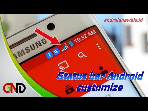 Begini cara ubah tampilan status bar Android tanpa root