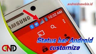 Begini cara ubah ikon di status bar Android (Tanpa Root)
