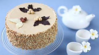 рецепт кофейно-ореховый торт