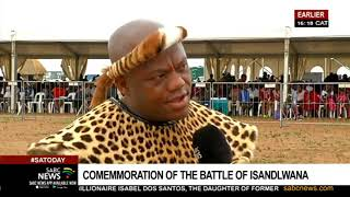 Thousands gather for the commemoration of Battle of Isandlwana