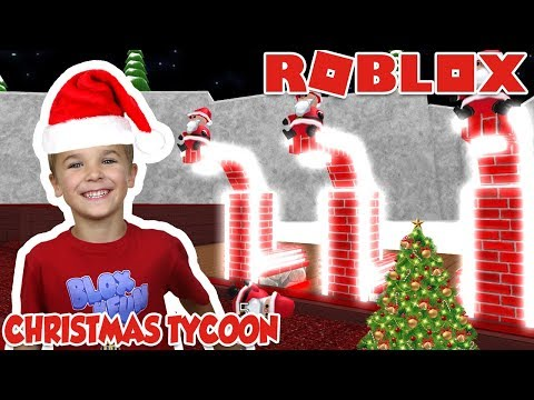 SANTA HAS TO GET READY EARLY FOR CHRISTMAS! / ROBLOX CHRISTMAS TYCOON