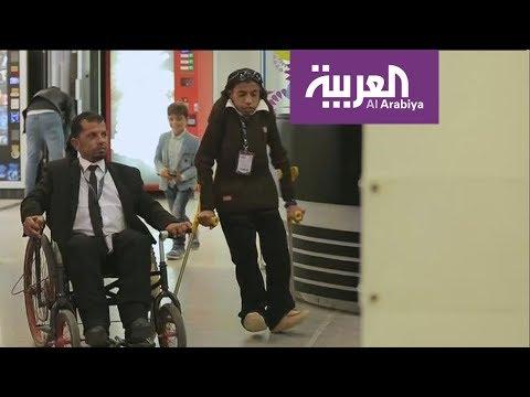 إخوة مقعدين من مخيم الزعتري يبتكرون كرسيا متحركا متطورا  - 11:53-2018 / 11 / 9