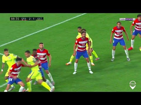 Liga Granada 2 1 Getafe Highlights Goals Hd Youtube