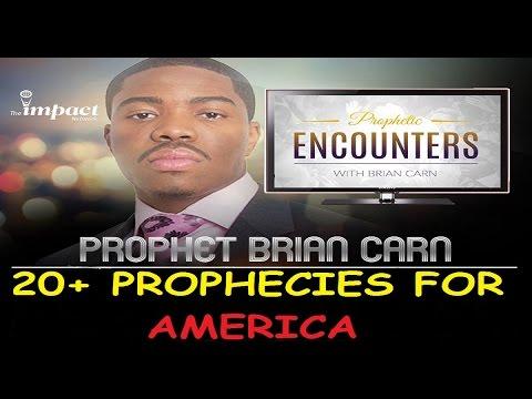 Prophet Carn @prophetcarn Shares Prophecies 4 America: The Next President~World War 3~Lethal Virus
