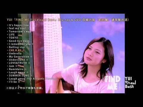 YUI 「FIND ME YUI Visual Best」ダイジェスト映像
